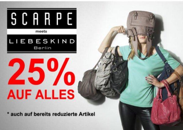 SCARPE meets Liebeskind 25% auf Alles.bsp Kayla vintage für ca 112€(Idealo 199€)