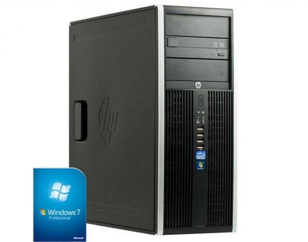[Harlander] HP Compaq 8300 Elite CMT business PC Core i3 3. Gen 3.3GHz  4GB 250GB + Windows 7 (Verpackungsschäden, NEUWARE, originalverpackt)