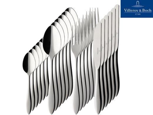 [Ibood] Villeroy & Boch Arthur 18/10 matt Tafelbesteck 24 tlg. für 55,90€ inc. Versand