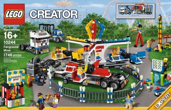 LEGO 10244 Jahrmarkt-Fahrgeschäft für 110,49€ / Qipu 106,78€ @intertoys.de