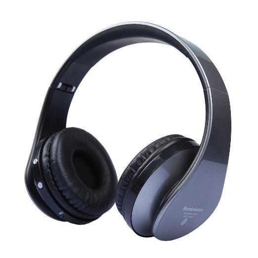 [Amazon.de-Prime] DBPOWER BMA0187 faltbarer  mp3 / fm Radio  Bluetooth Kopfhörer, hat auch ein klinkenstecker Anschluss und ein tf Karten Eingang