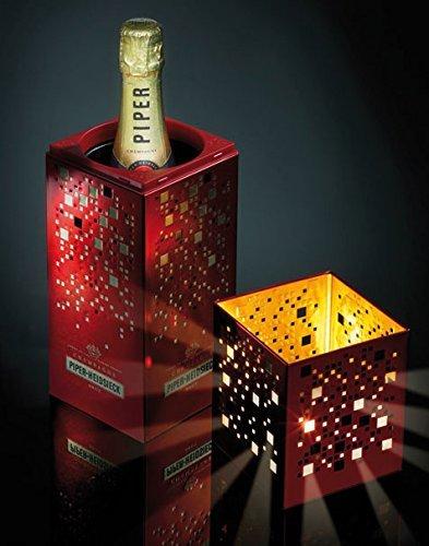 [Champagner] Piper Heidsieck Brut im Champagnerkühler mit Windlicht @ Ebay 33,90€ plus 4€ Versand