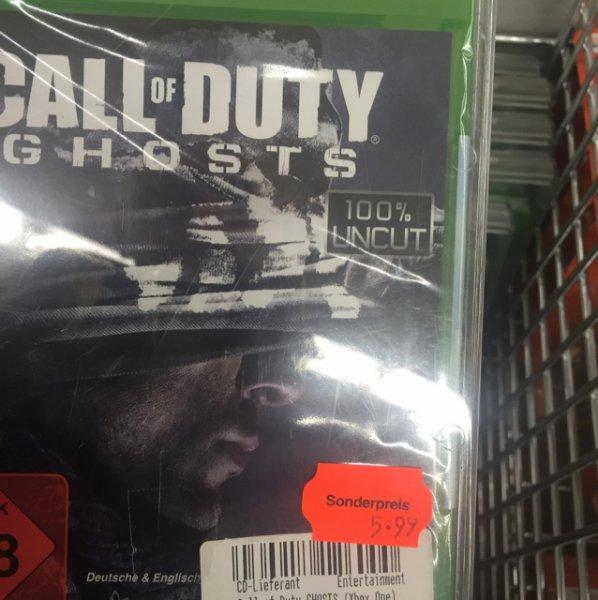 Call of Duty Ghosts XBOX One MediMax Wilmersdorfer Arcaden lokal