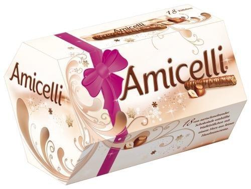 [Amazon.de-Prime] Amicelli, 4 Packungen je 18 Riegel (4 x 225 g)