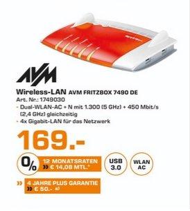 (Lokal) AVM FRITZ!Box 7490 für 169€ @ Saturn Duisburg