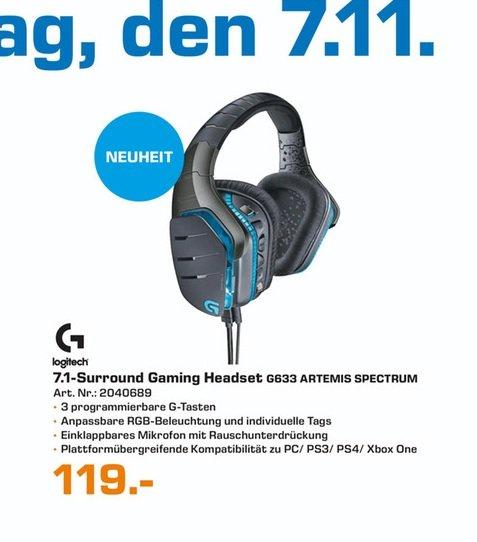 (Lokal) Logitech G633 Artemis Spectrum für 119€ @ Saturn Jena