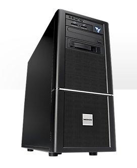[Medion] MEDION® ERAZER X5348 DR Intel® Core™ i7-4790 Prozessor, Windows 8.1, NVIDIA® GeForce® GTX 760 Grafik, 3.000 GB HDD, 256 GB SSD, 8 GB RAM, DVD-/CD-Brenner, WLAN