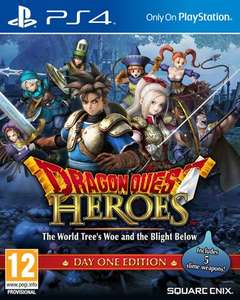 (PS4/GameUK) Dragon Quest Heroes Day One für 39,12 €
