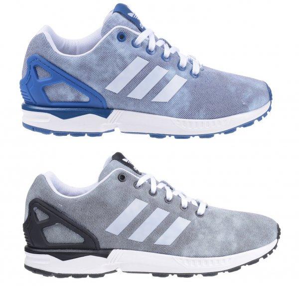 ADIDAS ZX FLUX blau für 31,46 € /  grau für 34,97 € (versch. Größen)