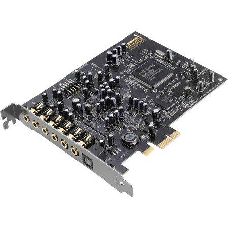 Creative Sound Blaster Audigy RX PCIe-Soundkarte (7.1-Surroundklang, zwei Mikrofoneingänge, Hardware-beschleunigte EAX-Effekte, leistungsstarker Kopfhörerverstärker) für 51,94€ @ ZackZack