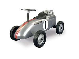 [Amazon.de-Prime] Retro Roller - Laufauto Racing Team, silber