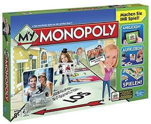 My Monopoly, Familien-Brettspiel, deutsche Version (Amazon Prime oder Marktplace)
