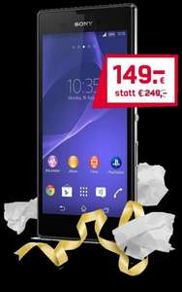 [Mobilcom Debitel] SONY XPERIA STYLE für 153,95€ inkl. Versand