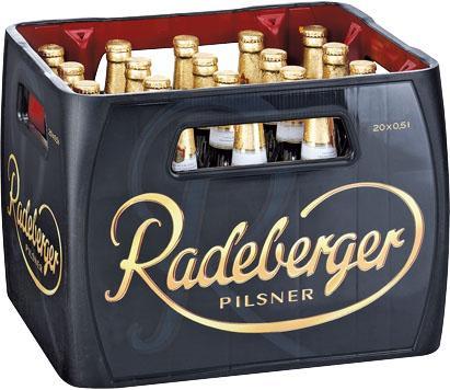 [Lokal?] Kasten Radeberger Pilsner 20x0,5l für 9,80€ excl. Pfand bei Kaufland