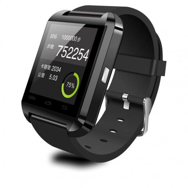 [Amazon.de-Marktplatz] Bluetooth-SmartWatch U8 Black color