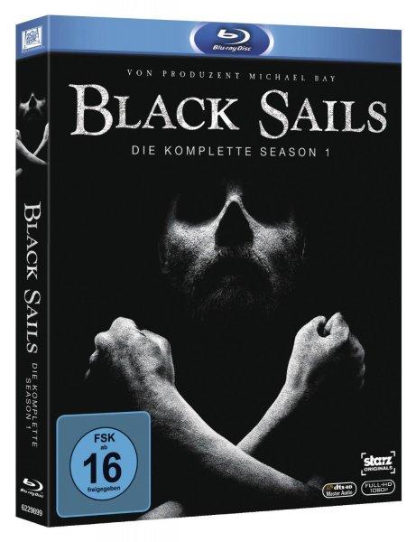 (amazon.de) Black Sails - Staffel 1 auf Blu-ray für 14,97€ + 3€ VSK