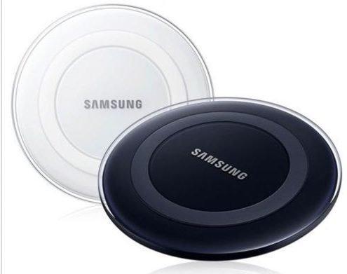 Samsung Wireless Ladestation EP-PG920I für Galaxy S6/S6 Edge in Schwarz/Weiss