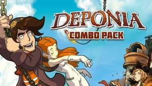 [STEAM] Deponia Combo Pack (Deponia + Chaos on Deponia) für 3,99€ @ Bundle Stars