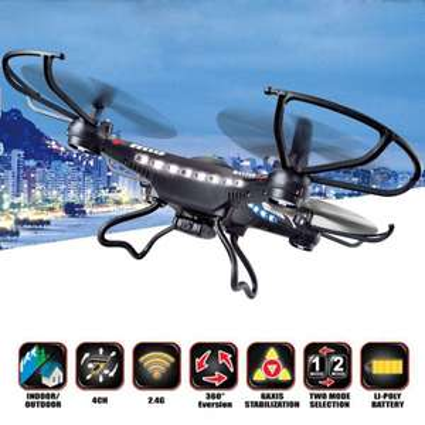 Quadcopter FY326: Sysma X5C / JJRC H8C-Clone, Versand aus D