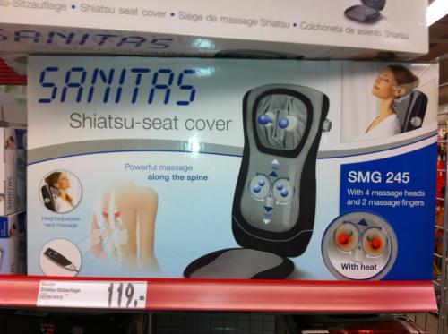 Sanitas SMG 245 Shiatsu-Sitzauflage bei Kaufland (Offline) für 119,-€