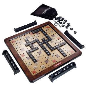 Scrabble Deluxe für 29,95€ bei Real und im Real Onlineshop (+VSK /ohne bei Filialabholung)