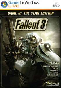 Fallout 3 GOTY  uncut Steam key 4,99€ , New Vegas Ultimate für 3,40€