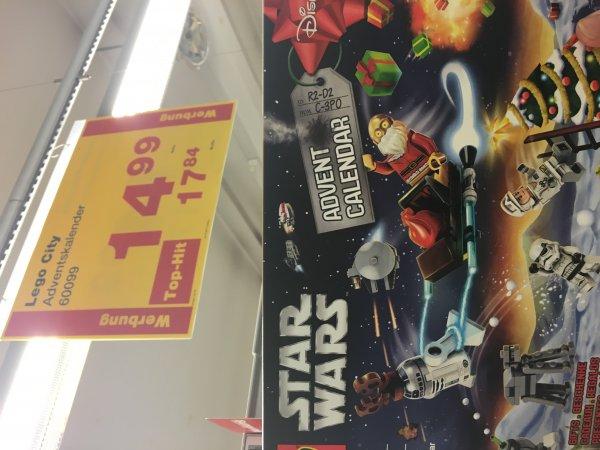 Lego Star Wars Adventskalender Lokal Metro Stuttgart 17,84€