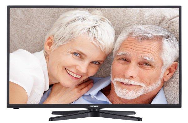 Blitzangebot: Telefunken D39F272I3 Senioren 99 cm (39 Zoll) Fernseher (Full HD, Triple-Tuner, Komfort-Fernbedienung) @349,99 Euro inkl. Versand