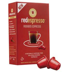 [Galeria Kaufhof] Red Espresso Rooibos Tee Capsules 10 x 5g bei Fillialabholung