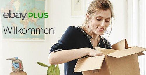 Ebay Plus - 5€ Gutschein (ohne mbw) für 1 Monat Gratis Mitgliedschaft.