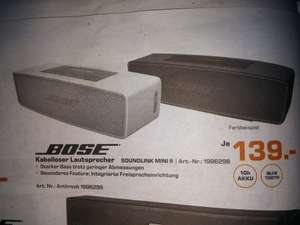 Bose Soundlink Mini II (Saturn Mainz/Wiesbaden)