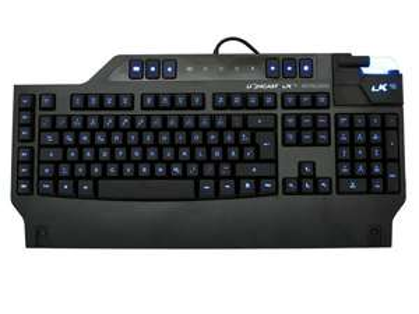 [AMAZON PRIME] Lioncast LK15 Gaming Tastatur QWERTZ -deutsches Layout (RGB-LED, n-Key-Rollover, 1000Hz)