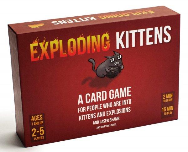 [Amazon Blitzangebot] Exploding Kittens: Original Edition (Originalausgabe) - Englische Version für 21,25 EUR