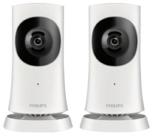 [Groupon] Philips M120G In.Sight HD-Heimkamera WiFi Weitwinkel für Apple-/Android-Geräte (Doppelpack)