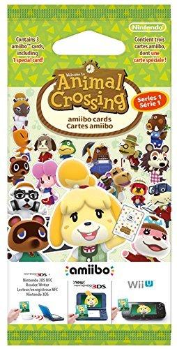 (Amiibo/Prime) 3 für 2 Animal Crossing amiibo-Karten Pack