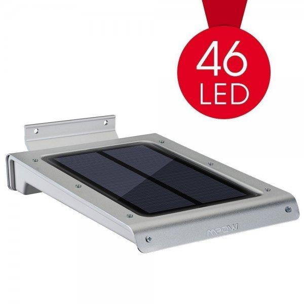 [Amazon.de Prime] 4,5€ Rabatt auf das MPOW Solar Aussenlicht mit Bewegungsmelder (46LED's) / 22,99€ anstatt 27,49€