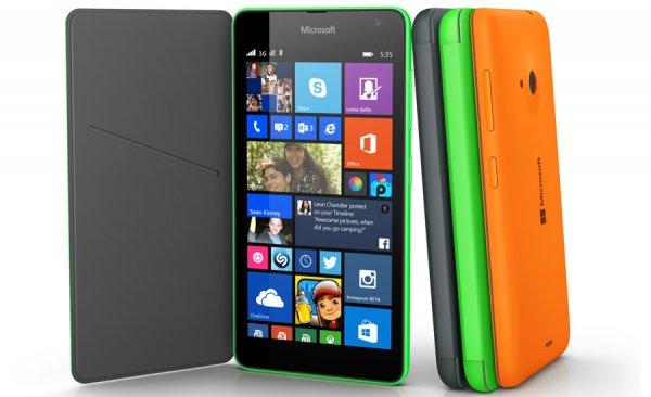 [Clevertronic] Lumia 535 (5'' qHD, 1GB RAM und Update auf Win 10) in verschiedenen Farben für 63,90€ [B-Ware]