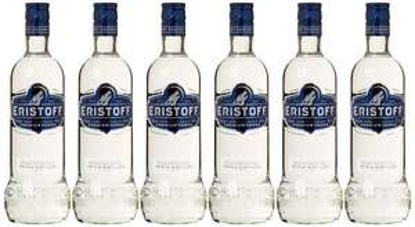 [Amazon.de-Prime] Eristoff Wodka (6 x 0.7 l)  ist aus dem Hause Martini bzw Bacardi