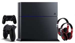 [rakuten.de] Sony PS4 1 TB incl. 2x DS4 wireless Controller + 2x MTV Headphones black/red zzgl. 87,25 in Superpunkten