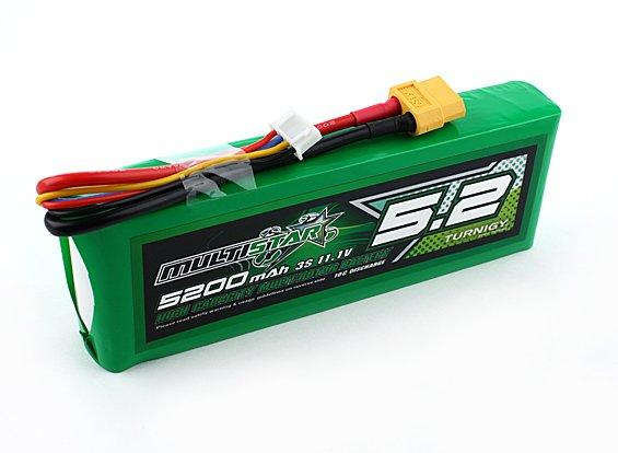 Multistar High Capacity LiPo 3S 5200mAh