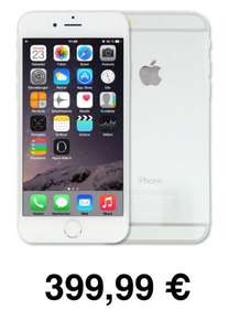 iPhone 6 16 GB Silber refurbished für 399,99€ @ eBay