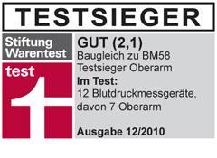 Blutdruckmessgerät SBM 43 - Sanitas - baugleich mit Beurer BM58