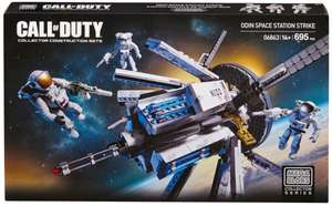 "[Prime bzw. +3€] 2 Mega Bloks Sets ""Call Of Duty - Odin Space Station"" & "" Halo - NMPD Police Hornet"""