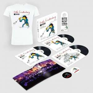 Udo Lindenberg: MTV Unplugged: Atlantic Suite Live (200g) (Limited Edition Box incl. T-Shirt Gr. L)