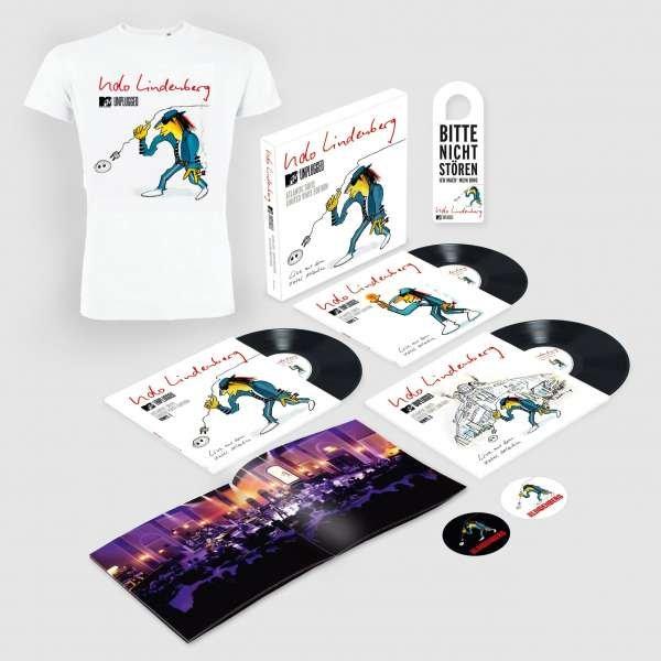 Udo Lindenberg: MTV Unplugged: Atlantic Suite Live (200g) (Limited Edition Box incl. T-Shirt Gr. L)