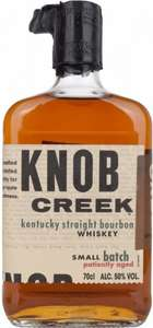 [Amazon Blitz] - Knob Creek Patiently Aged Kentucky Straight Bourbon Whiskey (1 x 0.7 l) - 24,99€