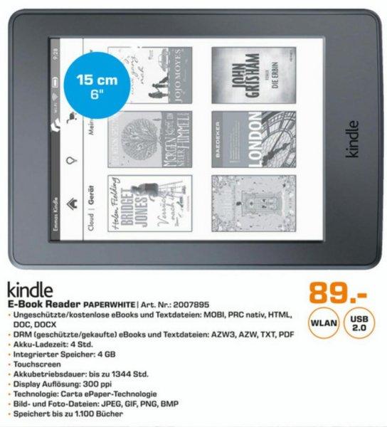 [Lokal][SATURN][NBG/FÜ] Das neue Kindle Paperwhite für 89€