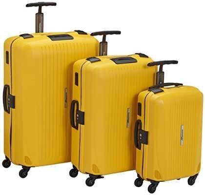 Hauptstadtkoffer Koffer-Set Q Damm 3 teilig, Gelb