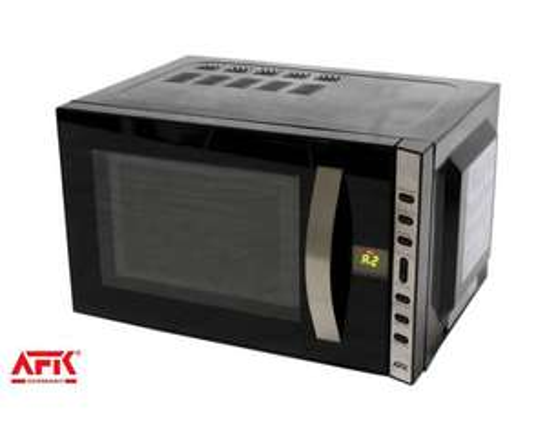 [Artlands] Mikrowelle Mikrowellengerät AFK 700 Watt schwarz MWDE 20.5 K