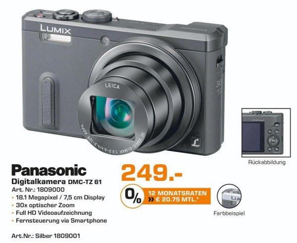 [Lokal Saturn Flensburg] Lumix DMC-TZ61 von Panasonic für 249,-